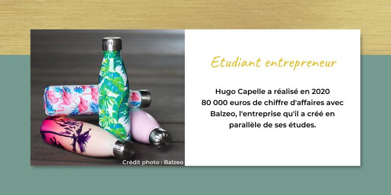 Balzeo entreprise créée par Hugo Capelle